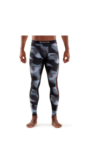 Skins M's DNAmic Long Tights Glitch Camo